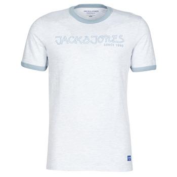 Textiel Heren T-shirts korte mouwen Jack & Jones JORLEGEND Wit