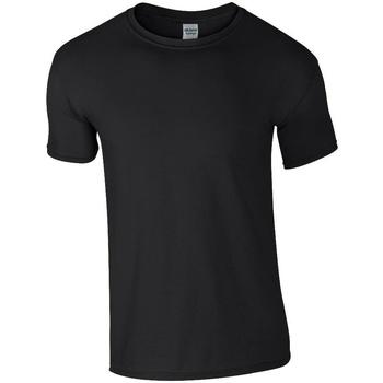 Textiel Heren T-shirts korte mouwen Gildan GD01 Zwart
