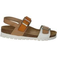 Schoenen Dames Sandalen / Open schoenen Riposella C129 Beige/White