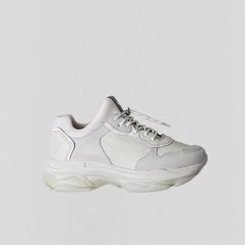 Schoenen Dames Lage sneakers Bronx Chaussures femme  Baisley Suede blanc cassé