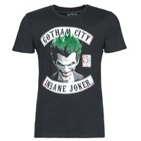Textiel Heren T-shirts korte mouwen Yurban INSANE JOKER Zwart