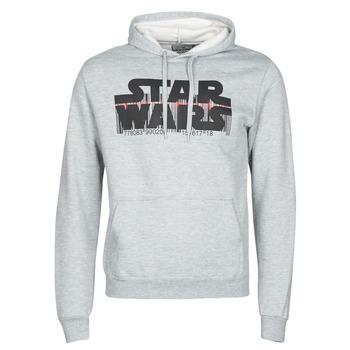 Textiel Heren Sweaters / Sweatshirts Yurban Star Wars Bar Code Grijs