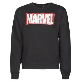 Textiel Heren Sweaters / Sweatshirts Casual Attitude MARVEL MAGAZINE CREW Zwart