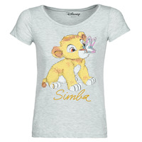 Textiel Dames T-shirts korte mouwen Moony Mood THE LION KING Grijs