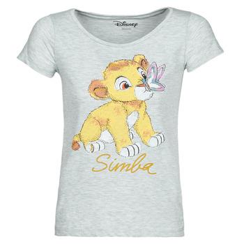Textiel Dames T-shirts korte mouwen Moony Mood THE LION KING Grijs