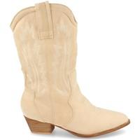 Schoenen Dames Hoge laarzen H&d 392 Beige