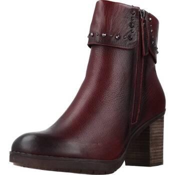 Schoenen Dames Enkellaarzen Carmela 66987C Rood
