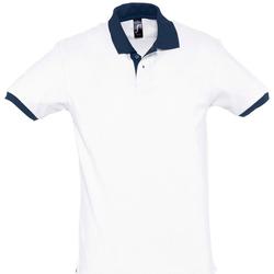Textiel Polo's korte mouwen Sols PRINCE COLORS Blanco