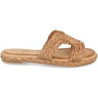 Schoenen Dames Espadrilles H&d BQ19-05 Camel