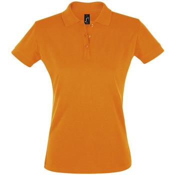 Textiel Dames Polo's korte mouwen Sols PERFECT COLORS WOMEN Naranja