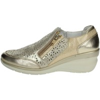 Schoenen Dames Mocassins Riposella C212 Platinum