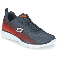 Schoenen Heren Allround Skechers EQUALIZER Marine / Orange