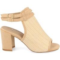 Schoenen Dames Sandalen / Open schoenen Festissimo F20-5 Beige