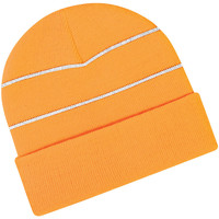 Accessoires Muts Beechfield Knitted Oranje