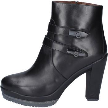 Schoenen Dames Enkellaarzen Guardiani BN363 Noir