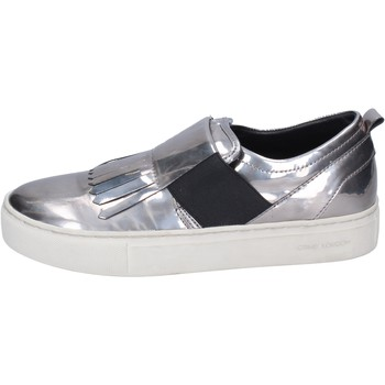 Schoenen Dames Instappers Crime London Baskets BN383 Argent