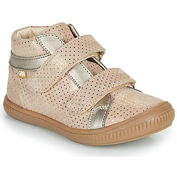 Schoenen Meisjes Hoge sneakers GBB EDEA Beige