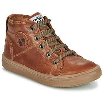 Schoenen Jongens Hoge sneakers GBB KELIG Brown