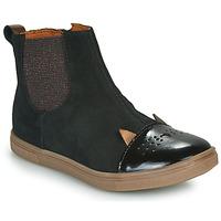 Schoenen Meisjes Laarzen GBB JESSINE Zwart