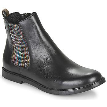 Schoenen Meisjes Laarzen GBB ARANA Zwart