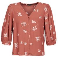 Textiel Dames Overhemden Vero Moda VMJILLEY Bordeaux