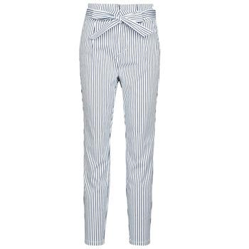 Textiel Dames Chino's Vero Moda VMEVA Wit / Grijs