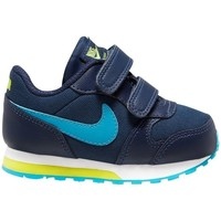 Schoenen Jongens Running / trail Nike MD Runner 2 Bleu marine