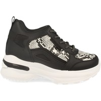 Schoenen Dames Hoge sneakers Festissimo Y288-100 Negro