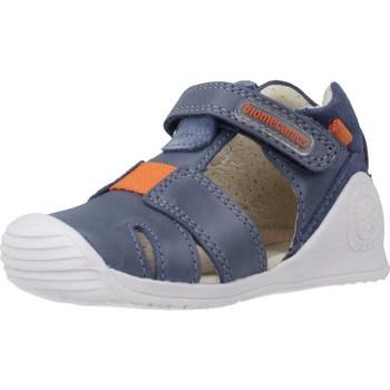 Schoenen Jongens Sandalen / Open schoenen Biomecanics 202141 Blauw