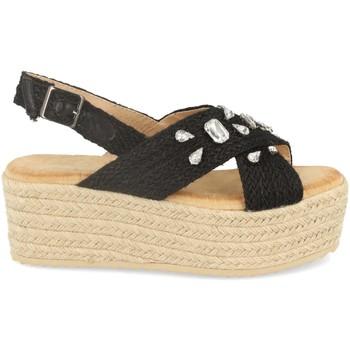 Schoenen Dames Espadrilles Buonarotti 1CF-0118 Negro