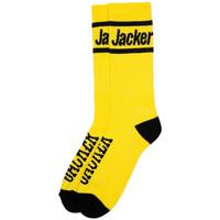 Accessoires Heren Sokken Jacker After logo socks Geel