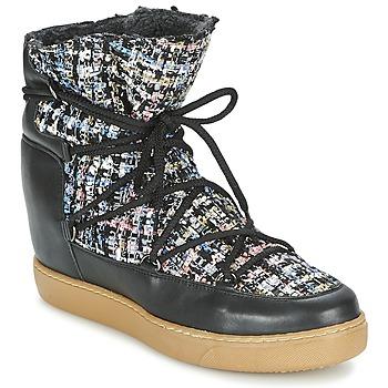 Schoenen Dames Laarzen Meline DERNA Zwart