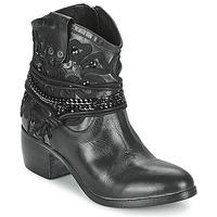 Schoenen Dames Laarzen Mimmu KAL Zwart