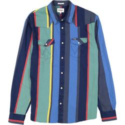 Textiel Heren Trainingspakken Wrangler Chemise  Western 2 Pocket multicolore