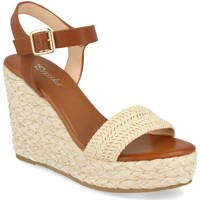 Schoenen Dames Sandalen / Open schoenen Prisska YB519 Beige
