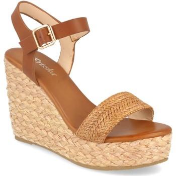 Schoenen Dames Sandalen / Open schoenen Prisska YB519 Camel