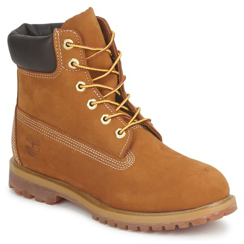 Schoenen Dames Laarzen Timberland 6IN PREMIUM BOOT - W Brown