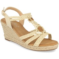 Schoenen Dames Sandalen / Open schoenen Milaya 3R46 Beige