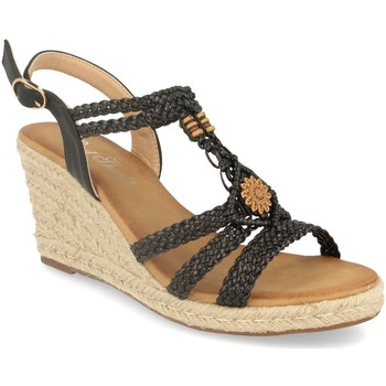Schoenen Dames Sandalen / Open schoenen Milaya 3R46 Negro