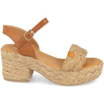 Schoenen Dames Sandalen / Open schoenen H&d YZ19-62 Beige