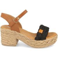 Schoenen Dames Sandalen / Open schoenen H&d YZ19-62 Negro