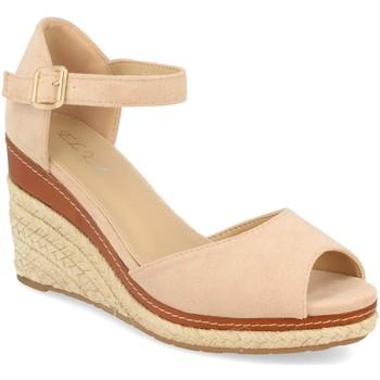 Schoenen Dames Sandalen / Open schoenen H&d EY-19 Beige