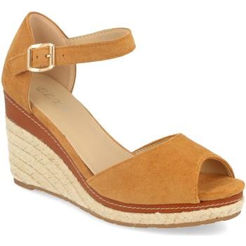 Schoenen Dames Sandalen / Open schoenen H&d EY-19 Camel
