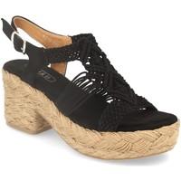 Schoenen Dames Sandalen / Open schoenen H&d YZ19-117 Negro