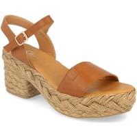 Schoenen Dames Sandalen / Open schoenen H&d YZ19-63A Camel