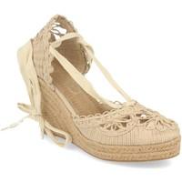 Schoenen Dames Espadrilles H&d YZ19-53 Beige