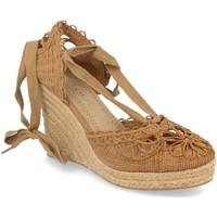 Schoenen Dames Espadrilles H&d YZ19-53 Camel