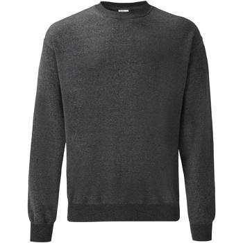 Textiel Heren Sweaters / Sweatshirts Fruit Of The Loom 62202 Donker Heather