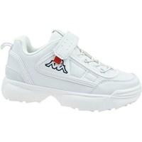 Schoenen Kinderen Lage sneakers Kappa Rave NC K Blanc