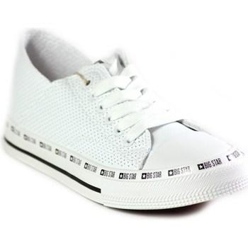 Schoenen Dames Lage sneakers Big Star FF274024 Blanc